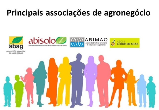 principais associações de agronegócio